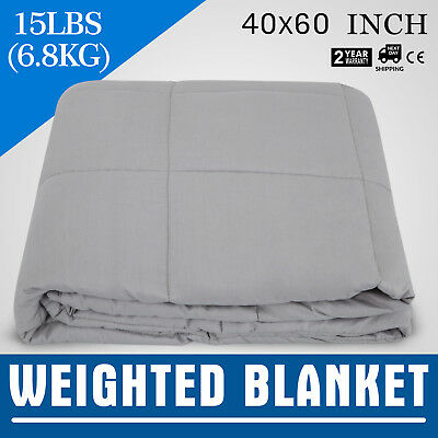 Weighted Heavy Blanket for Adult & Children Deep Sleeping Gravity Anxiety 15lbs