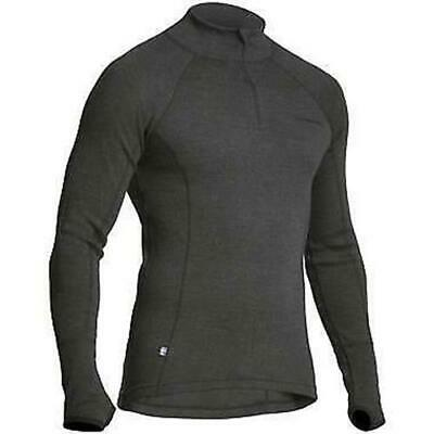 Halvarssons Polo Wind Merino Wool Base Layer Long Sleeve High Kneck