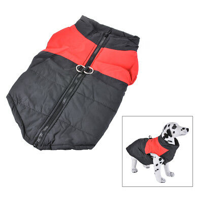 Waterproof Pet Large Dog Clothes Autumn Winter Warm Cozy Padded Coat Vest Jacket