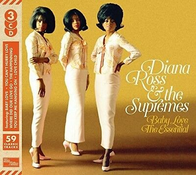 Diana Ross & the Supremes Baby Love The Essential 3 CD DIGIPAK NEW