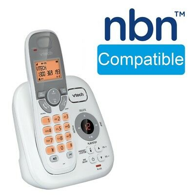 NBN Compatible Cordless Phone Answering Handset Dect Digital WiFi Friendly Home