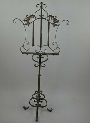 Music Stand, Menu Stand, Bookstand in Baroque-Style, Antique Stand