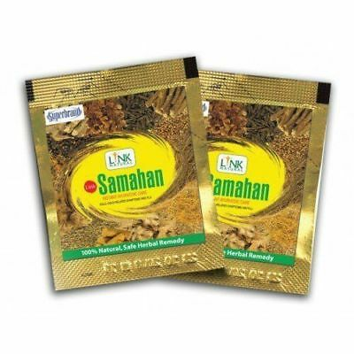 Link SAMAHAN Ayurveda natural REMEDY herbal drink 100- sachets for Cough& Cold
