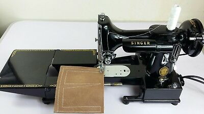 SUPERB Singer FEATHERWEIGHT 222K  Sewing Machine, FULLY Serviced & PAT TESTED