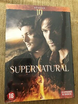 New sealed Supernatural: The Complete Tenth Season (DVD 2016) Region 2