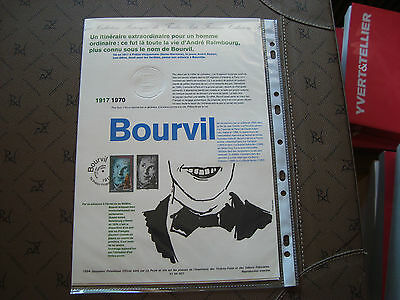 FRANCE - official document 1st day 17/9/1994 (bourvil) french
