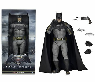 NECA 1;4 Scale Batman v Superman Dawn of Justice Action Figure Brand New 1/4