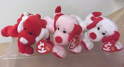 76e33ef7cf2 TY SUGAR   Honey Bun Set Of 2 Beanie Boos-New