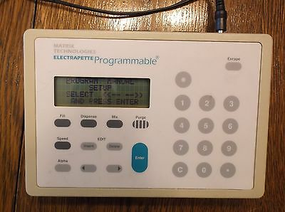 Matrix Technologies Electrapette Programmable Controller  with AC Adapter