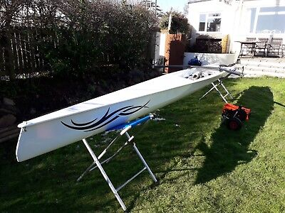 Liteboat Literace X1 single coastal scull and accessories