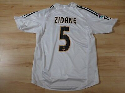 fffd53b0f ADIDAS REAL MADRID Vintage Climacool Official Jersey ZIDANE 5 ...