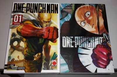 One Punch Man 1 + 1 Variant Cover Limited Edition Panini Manga Speciale