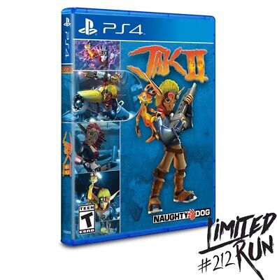 Limited Run #212 Jak Ii For Playstation 4 Ps4!