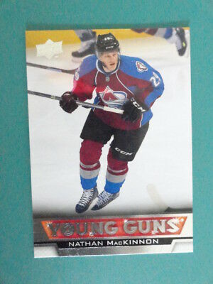 Nathan Mackinnon Young Guns Rookie 2013/14 Upper Deck Series One