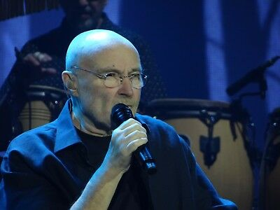 365 PHIL COLLINS 2017 Concert. LIVE TOUR PHOTOS on CD/DVD, NOT DEAD YET. +EXTRAS