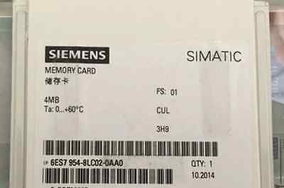 Brand NEW 6ES7 954-8LC02-0AA0 6ES7954-8LC02-0AA0 Siemens 4MB Memory Card #RS8