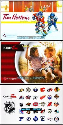 3x TIM HORTON HAPPY KIDS JUNIOR HOCKEY NHL TEAM ICONS COLLECTIBLE GIFT CARD LOT