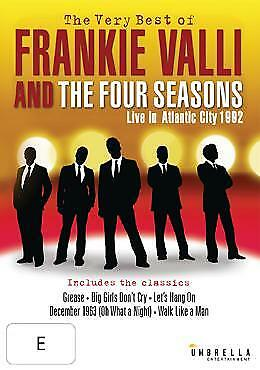Frankie Valli and the Four Seasons The Very Best of DVD Region 4 PAL NEW