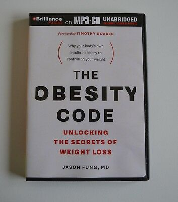 The Obesity Code: Unlocking the Secrets of Weight Loss - Jason Fung, MD MP3CD