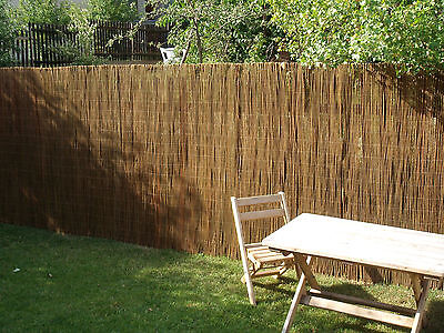 Willow Fencing Wicker Roll Mat Pasture Garden Balcony Fence paneling screen