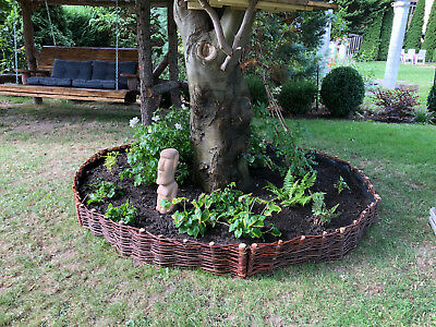 Willow Garden Bed Border Pasture Twig Fencing Boundary  Wicker Demarcation Fence