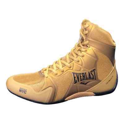 Everlast Ultimate Pro Boxing Boots Gold
