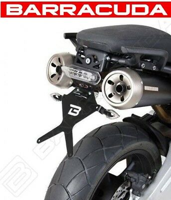 Kit Portatarga Reclinabile + Faro Led Barracuda Yamaha Mt-03 2006 - 2014