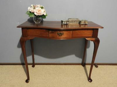 Antique Victorian Colonial Cedar Hall Display Lamp Console Occasional Table 1880