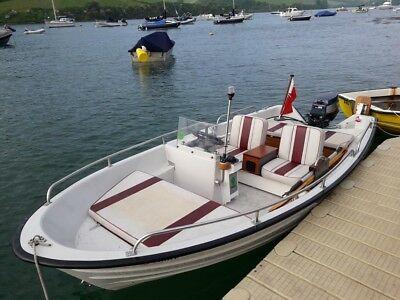Bonwitco 385 With Console Steering - Yamaha 25 Hp Outboard - Trailer