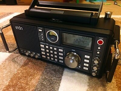 Eton Satellit 750 Mw/fm/sw/air Band Radio Mint