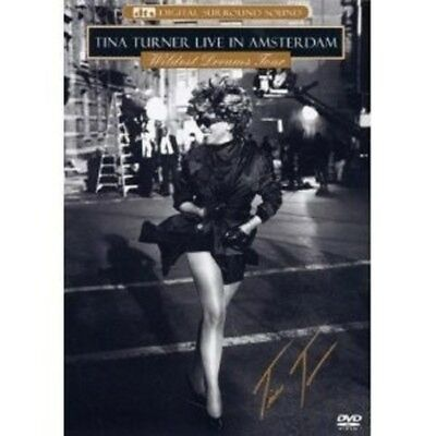 """Tina Turner """"Wildest Dreams Tour: Live In Amsterdam (Dts Version)""""  Dvd New!"""