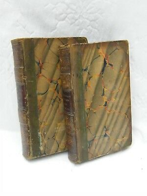 The Works Of Samuel Butler-Vol I & II-Leather Bound-Kearsley-Fleet Street-c1806