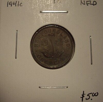 Canada Newfoundland 1941C Small Cent