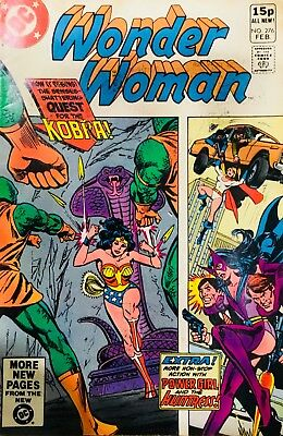 WONDER WOMAN #276 Feb 1981 FN Huntress, Power Girl