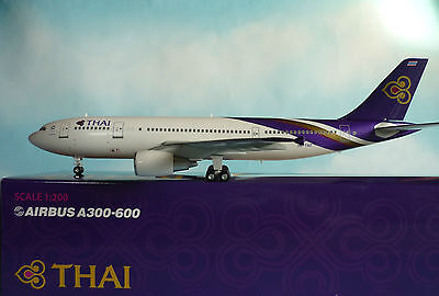 Herpa Wings Katalog Hogan Wings 1:200 Airbus A300-600 Thai Airways HS-TAZ