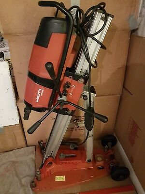 Hilti DD 350 Core Drill with rig and suction base. 220v-240v. Used condition