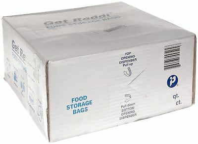 Integrated Bagging Systems PB080418R Get Reddi Food & Poly Bag, 8 X 4 X 18,