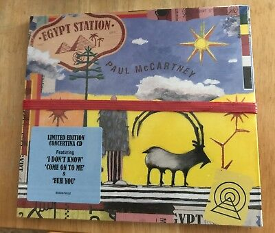 PAUL McCARTNEY - EGYPT STATION (LIMITED EDITION, 2018, CD) New!!!