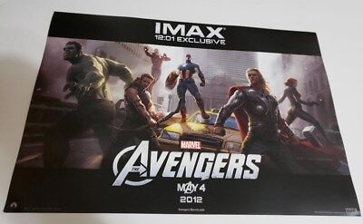 Marvel Avengers (2012) 13 1/2 x 19 1/2 Original Theactrical IMAX Poster
