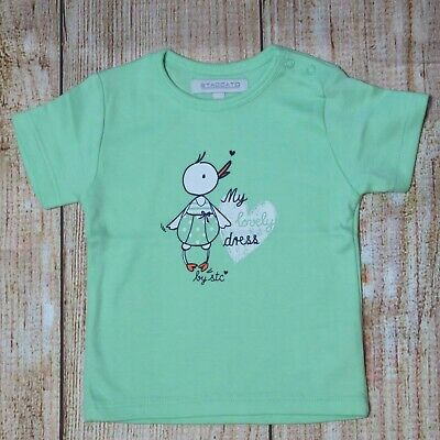 Girls Size 0000 (0 - 3 months) STACCATO Shirt ~ NEW ~  Cotton Duck ~ MBC