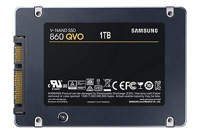 "1TB SSD Samsung 860 QVO Series 2.5"" SATA Internal Solid State Drive 550MB/s NEW"