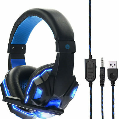 Gaming Headset With Mic for ps4 xbox nintendo switch PC fornite game  AU