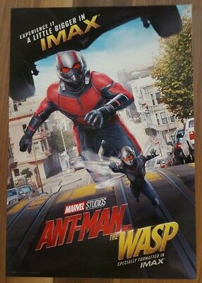 """Marvel Studios ANT-MAN AND THE WASP Official Movie 13"""" x 19""""  IMAX Poster-HTF"""