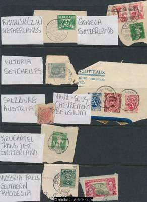 Assorted World Stamps & Post Marks