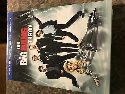 Big Bang Theory Fourth Season 4 - Dvd Size - Slip Cover Only