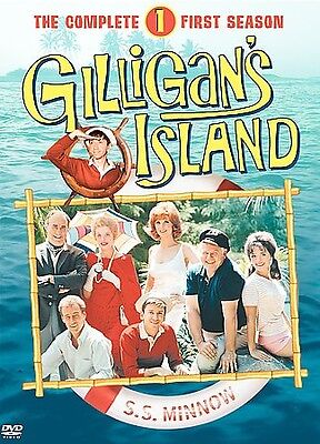 Gilligans Island - The Complete First Season (DVD, 2004, 3-Disc Set)M