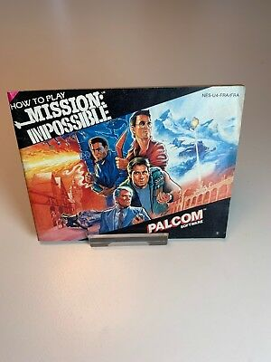 Nintendo NES Manual Mission Impossible FRA/FRA