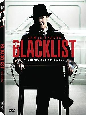The Blacklist : Season 1 (DVD, 2014, 6-Disc Set) BRAND NEW ... R2 and 4