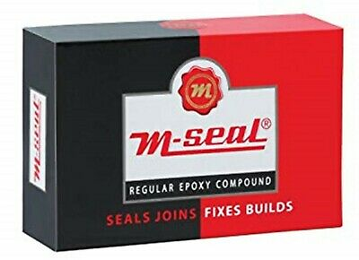 M Seal - Leak repairing Epoxy clay - metal plastic sealing joining compound 50g