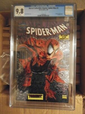 Marvel Collectible Classics: Spider-Man #1 CGC 9.8 (1998) - Chromium Cover